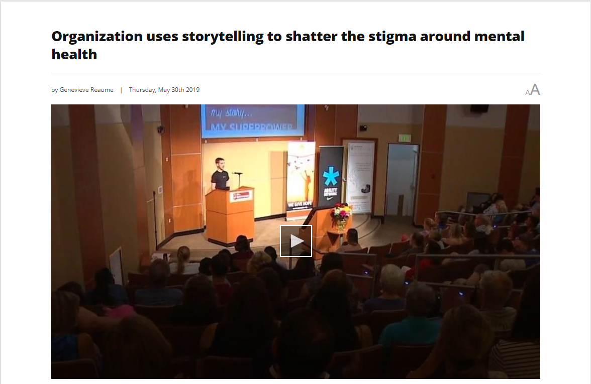 , My Story My SUPERPOWER Storytelling Show was a huge success!